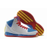 Adidas AdiZero Rose 3.5 White Blue Red