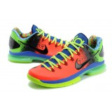 Kevin Durant V ELITE Orange Green Blue