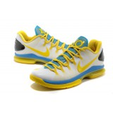 Kevin Durant V ELITE White Blue Yellow