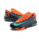Kevin Durant VI Black Orange Green