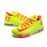 Kevin Durant VI Orange Lime