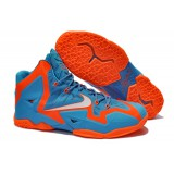 Nike Lebron 11 XI Red Blue Ocean
