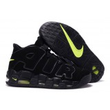 Nike Air More Uptempo Black Black-Volt