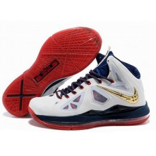 Nike Zoom Lebron 10 X Medal Gold